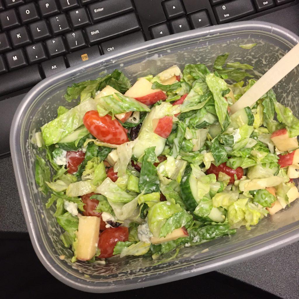 Work Lunch Salad