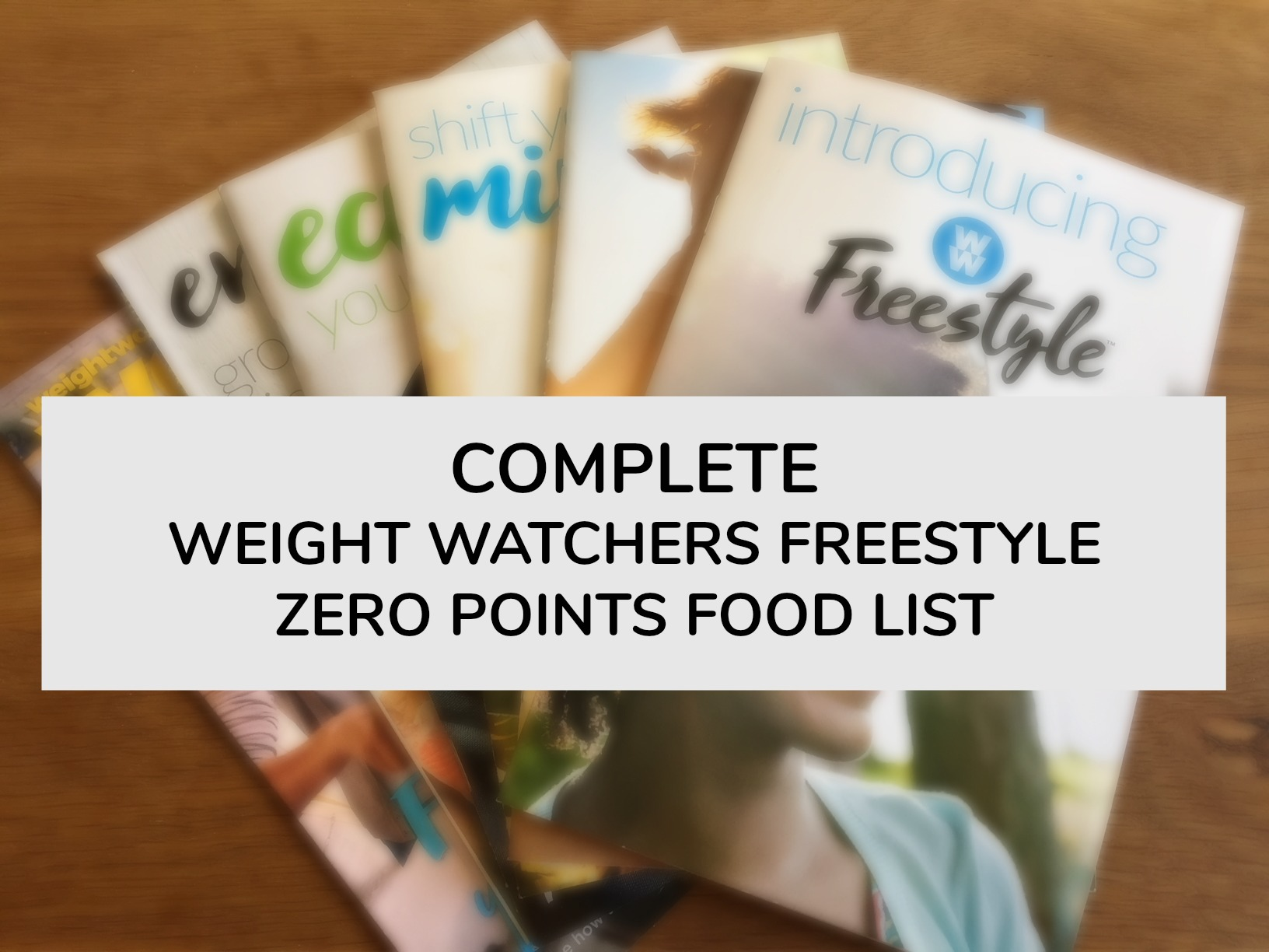 Complete Weight Watchers Freestyle Zero Points Food List Balancing Today