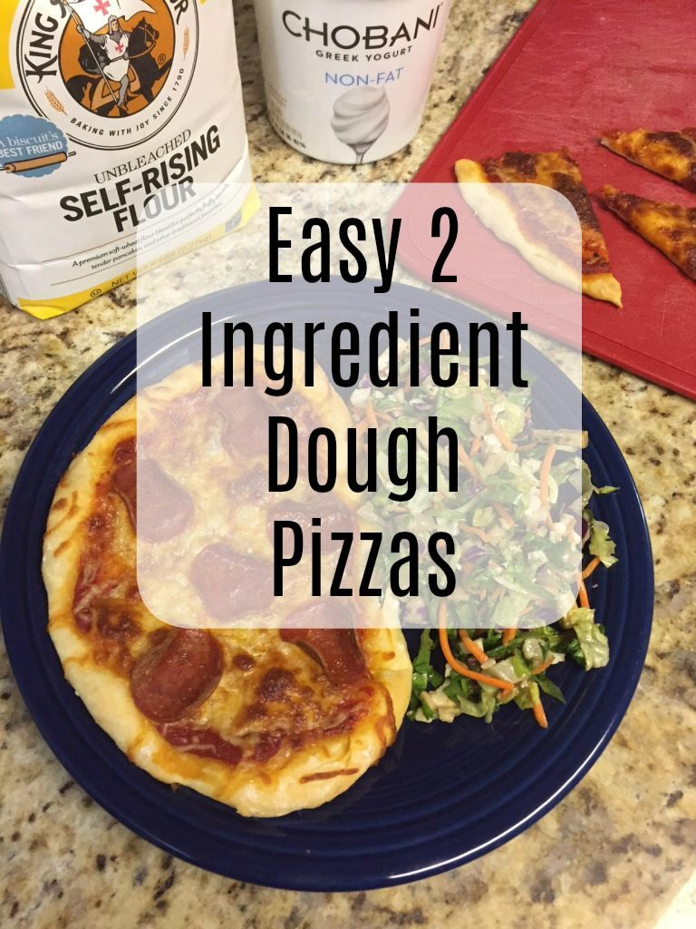 2 Ingredient Dough Pizza 2