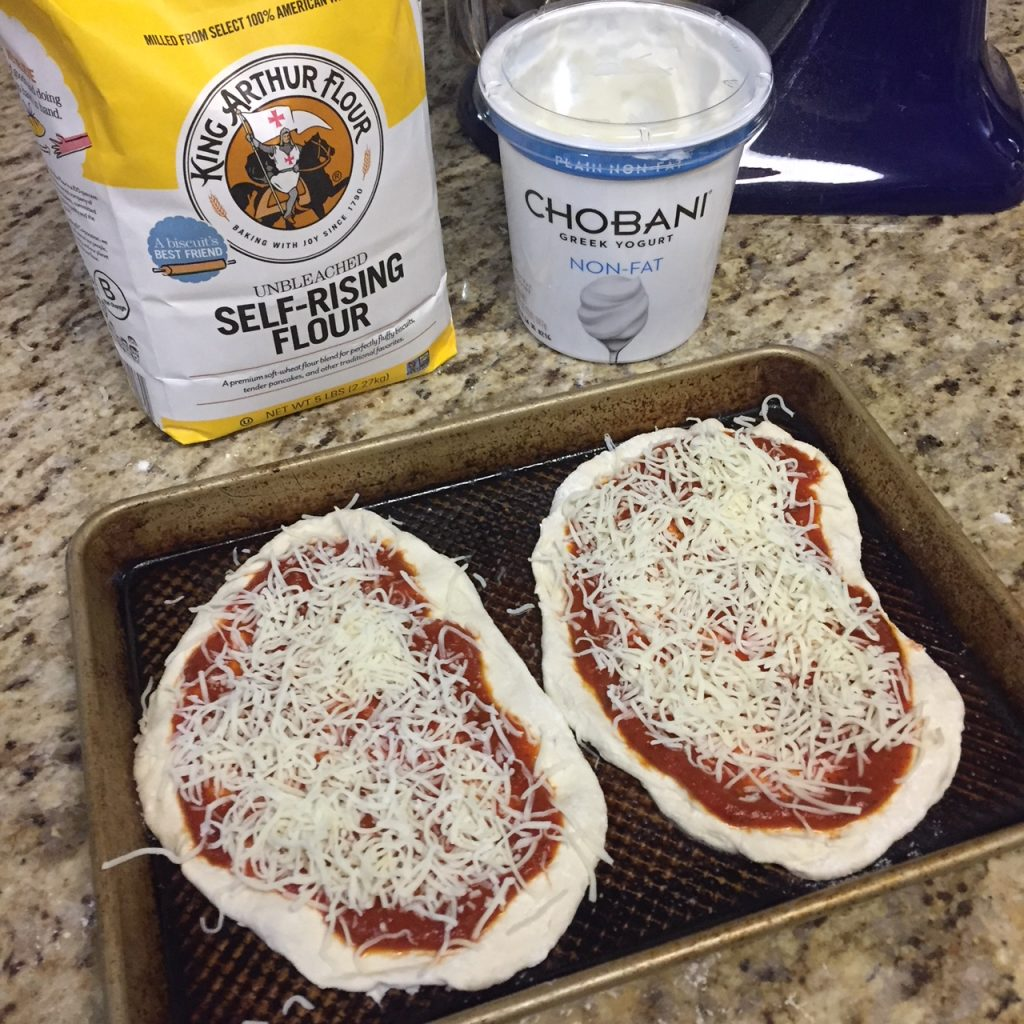 2 Ingredient Dough Pizza