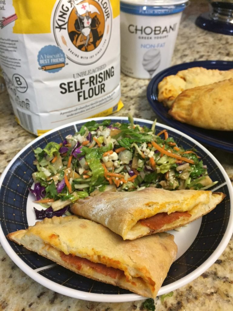 2 Ingredient Dough Calzones