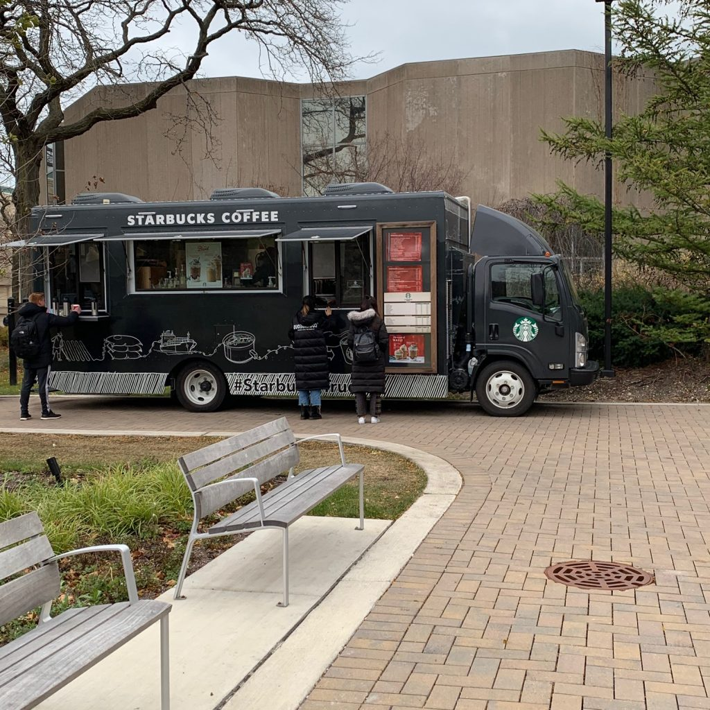Northwestern University Starbucks Truck