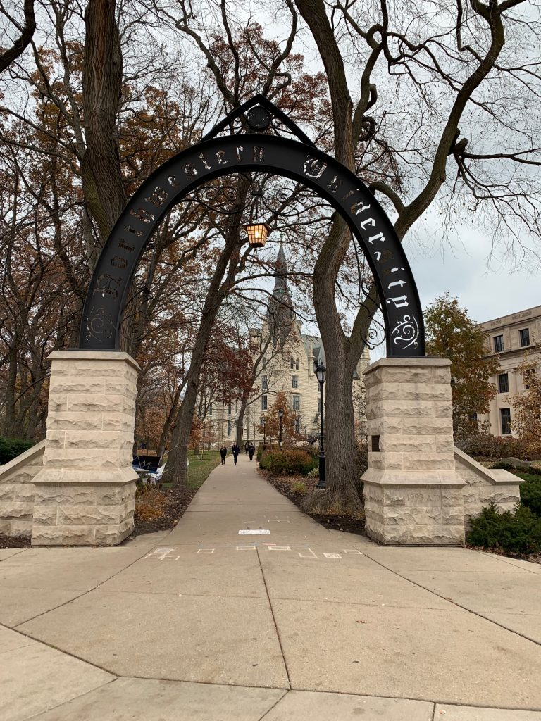 Visiting Northwestern University
