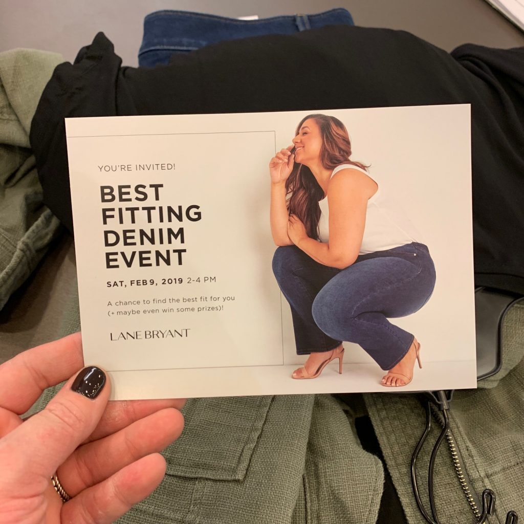 Lane Bryant Denim Event
